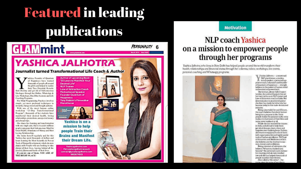Featured in leading publications